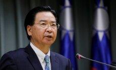 Ministrs: Bez ASV atbalsta, Taivāna būtu neaizsargāta pret Ķīnas uzbrukumu