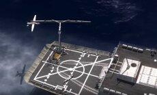 Video: Amerikāņu Jūras spēkiem konstruē jauna tipa dronu ķērāju