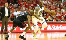 'Warriors' ar uzvaru iesāk NBA Rietumu konferences finālu