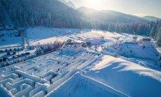 Video: Polijas kalnu pilsētiņā Zakopanē atklāts lielākais sniega labirints pasaulē