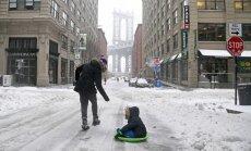 ФОТО: из-за снежной бури в США объявлено чрезвычайное положение