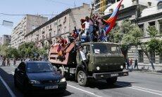 ФОТО. Армения парализована всеобщей забастовкой: лидер оппозиции призвал к протестам