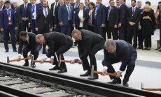 Открыта ж/д ветка, которая поможет соединить Китай с Европой в обход России