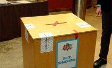 CVK saņem sūdzības par pretvalstiska likumprojekta virzīšanu un grūtībām atrast iecirkni