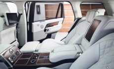 Pagarinātā 'Range Rover' aizmugurējās durvis turpmāk vērsies elektriski