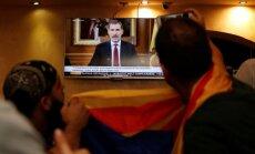 Arī Spānijas karalis nosoda Katalonijas neatkarības referenduma organizētājus