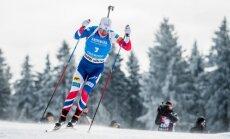 Биатлонисты России упустили победу в эстафете, Латвия — предпоследняя