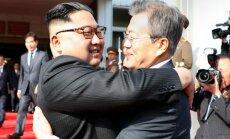 Лидеры КНДР и Южной Кореи во второй раз встретились на границе