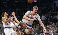 Porziņģis pretendē uz NBA sezonas labākā bloķētā metiena balvu