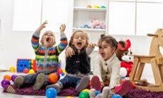 Dainis Grūbe un Katrīna Puriņa atklāj par un pret bērnu laišanai bērnudārzā