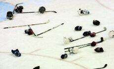 Jauns krievu hokejists smagi piekauj savas komandas treneri