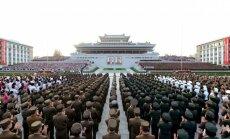 В Пхеньяне прошел многотысячный митинг в поддержку ядерного испытания