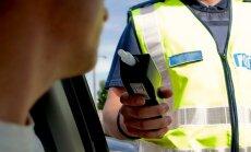Sodu palielināšanu par transportlīdzekļa vadīšanu reibumā atbalsta 73% iedzīvotāju