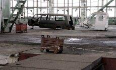 Vagonu rūpnīca bijušajā RAF: projekts miglā tīts, pilsēta gaida