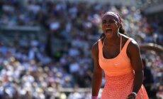 Veselības problēmu mocītā Serēna Viljamsa izcīna 20. 'Grand Slam' titulu