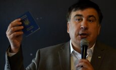 Gruzija aicina Ukrainu izdot Saakašvili