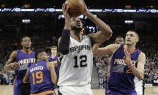 Bertāns atkal nospēlē pēdējās minūtes, 'Spurs' uzvar pat bez Lenarda
