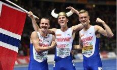 Norvēģis Ingebriksens kļūst par jaunāko Eiropas čempionu 1500 m distancē