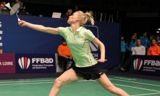 Latvijas badmintoniste Šefere iekļūst Eiropas čempionāta astotdaļfinālā