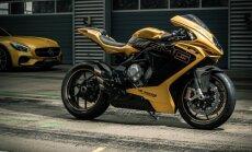 'MV Agusta' un 'Mercedes-AMG' kopīgi izstrādātais motocikls