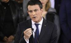 Francijas premjers Valss paziņo par demisiju; kandidēs prezidenta vēlēšanās