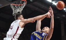 Latvijas basketbola izlasei gaidāmajās atlases spēlēs nepalīdzēs Siliņš