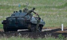 Krievijas bruņotie spēki sāk pēkšņu kaujas gatavības pārbaudi