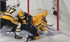 'Predators' vēlreiz pieveic 'Penguins' un izlīdzina rezultātu Stenlija kausa finālsērijā