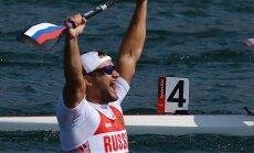 Diskvalificē Krievijas olimpisko un divus pasaules čempionus kanoe airēšanā