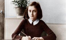 Pirms 70 gadiem aprāvās Annas Frankas stāsts