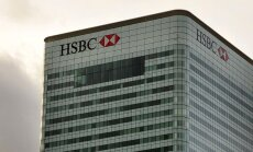 HSBC par 1,92 miljardiem ASV dolāru panāks apsūdzību naudas atmazgāšanā atcelšanu