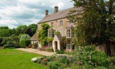 Anglijas lauku romantika: muižas un brīvdienu mājas prom no pilsētas kņadas