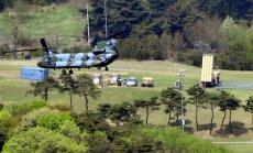 Dienvidkorejā uzstāda ASV pretraķešu sistēmu THAAD