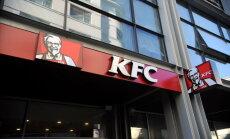 PVD konstatē higiēnas prasību neievērošanu KFC ēstuvē Vecrīgā