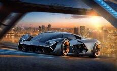 'Lamborghini' nākotnes superauto ar 'pašdziedējošo' virsbūvi