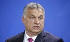 Ungārijas premjerministrs nevēlas Francijas vadītu ES
