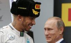Хэмилтон выиграл Гран-при России и превзошел Сенну, Квят замкнул пятерку