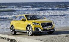 'Audi' parādījis savu jauno vismazāko apvidnieku 'Q2'