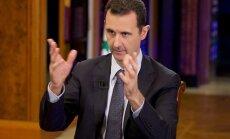 Asads pateicas Krievijai par tās palīdzību