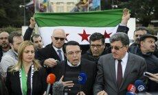 Sīrijas opozīcija atsakās no pēcpusdienā paredzētās tikšanās ar ANO vēstnieku