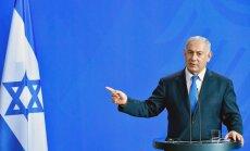 Netanjahu brīdina: Irāna varētu izraisīt jaunu migrantu krīzi