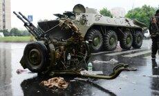 Luhanskā iebraukuši trīs separātistu tanki un piecas bruņumašīnas, paziņo eksperts