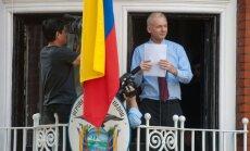Asanžs aicina ASV izbeigt 'raganu medības' pret 'WikiLeaks'