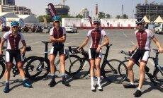 Svelmainajā Katarā pasaules čempionātā šosejas riteņbraukšanā startēs seši Latvijas sportisti