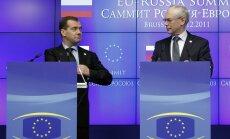 Pasludināts Krievijas un ES Aukstais karš, uzskata žurnāls