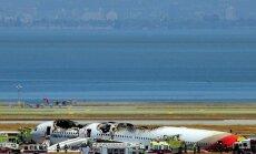 Sanfrancisko avarējušo 'Boeing 777' pilotējis māceklis