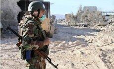 'Cīņa pret teroristiem': Putina sabiedrotā uzņēmums apkalpo 'Daesh' kontrolētu rūpnīcu