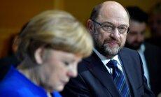 Vācijas koalīcijas izveides sarunas var ilgt līdz aprīlim