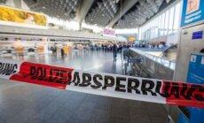 Frankfurtes lidosta atsākusi darbu pēc daļējas evakuācijas