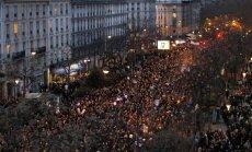 Parīzes gājienā pret terorismu piedalās vairāk nekā miljons cilvēku
